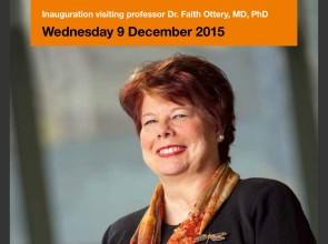 9 December 2015: Inauguration visiting professor Faith Ottery at Hanze UAS