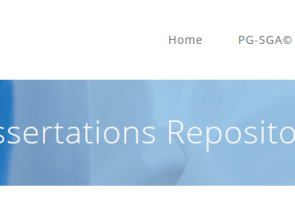 New on the website: Dissertations Repository