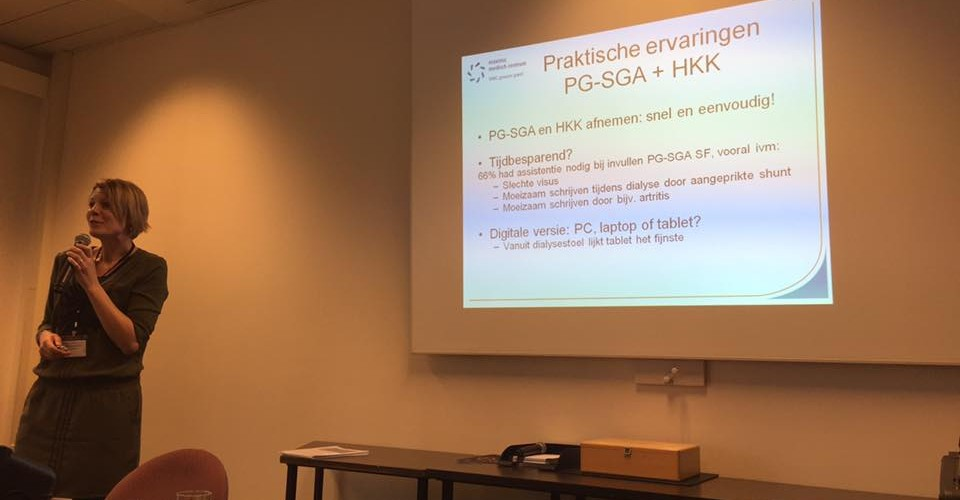 Experiences with the PG-SGA in clinical practice